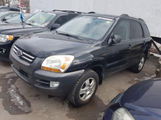 Used 2007 Kia Sportage 4 CYLINDER, 5 SPEED - CERT/EMIS for sale in Whitby, ON