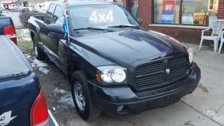Used 2007 Dodge Dakota 4X4 - (179,000 kms) EXTENDED 4 DOOR - CERT/EMIS for sale in Whitby, ON