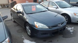 Used 2006 Honda Accord LOADED! LEATHER, ROOF, SNOW TIRES INCL - CERT/EMIS for sale in Whitby, ON