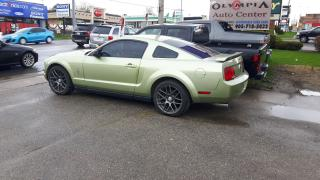 Used 2006 Ford Mustang SPORT RIMS, BLACK LEATHER INTERIOR - CERT & EMIS for sale in Whitby, ON