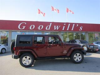 Used 2010 Jeep Wrangler UNLIMITED! BLUETOOTH! FACT. REMOTE START! for sale in Aylmer, ON