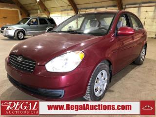 Used 2009 Hyundai Accent 4D Sedan for sale in Calgary, AB