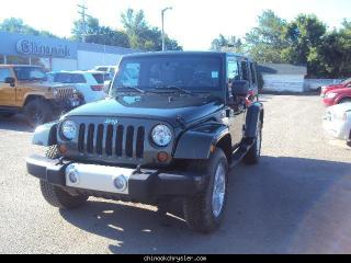 Used 2008 Jeep Wrangler Unlimited Sahara for sale in Taber, AB