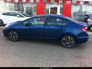 Used 2013 Honda Civic EX 5AT for sale in Brooks, AB