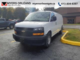 Used 2018 Chevrolet Express Cargo Van 2500 155WB for sale in Orleans, ON