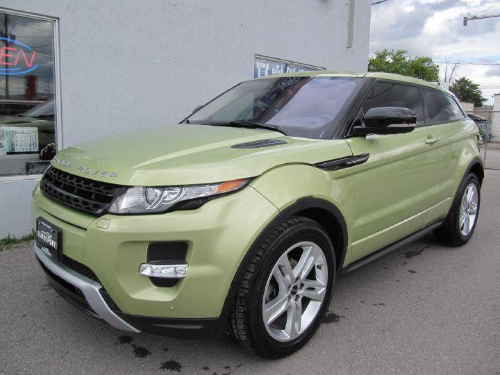 used 2012 land rover evoque prestige for sale in markham ontario. Black Bedroom Furniture Sets. Home Design Ideas