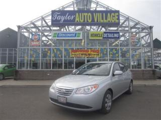 Used 2010 Hyundai Elantra GL for sale in Moncton, NB