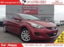 Used 2012 Hyundai Elantra GLS HEATED SEATS| ACTIVE ECO| BLUE TOOTH for sale in Georgetown, ON