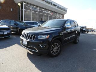 Used 2014 Jeep Grand Cherokee Limited LEATHER/SUNROOF/POWER LIFT GATE for sale in Concord, ON