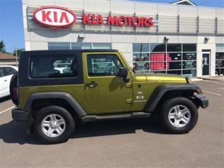 Used 2008 Jeep Wrangler X for sale in Moncton, NB