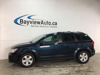 Used 2014 Dodge Journey CVP/SE Plus - 7PASS! REVERSE CAM! FULL PWR GROUP! + MORE! for sale in Belleville, ON