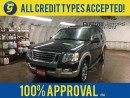 Used 2010 Ford Explorer EDDIE BAUER*7 SEATER*4x4*ALLOYS*ROOF RACK*LEATHER*FOG LIGHTS*POWER HEATED FRONT SEATS*POWER SUNROOF*MICROSOFT SYNC*KEYLESS ENTRY*POWER WINDOWS/LOCKS/H for sale in Cambridge, ON