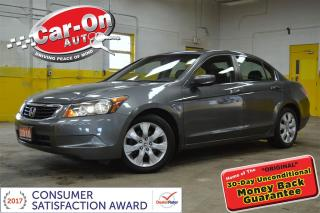Used 2010 Honda Accord EX-L LEATHER & SUNROOF for sale in Ottawa, ON