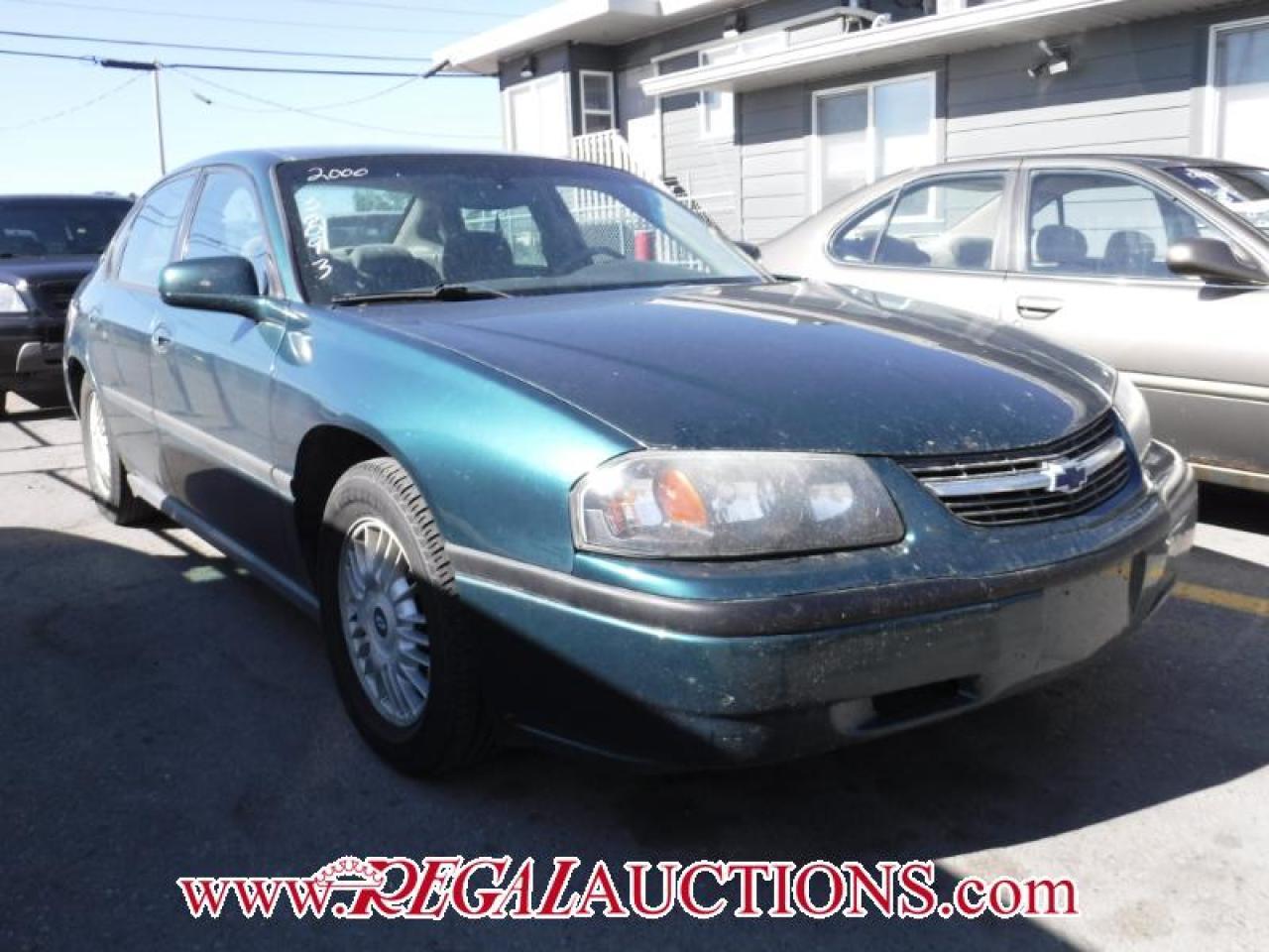 2000 Chevrolet IMPALA BASE 4D SEDAN