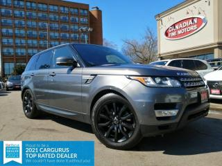Used 2016 Land Rover Range Rover Sport DIESEL | CLEAN CARFAX | NAVI | CAM | ROOF | DVD | for sale in Scarborough, ON