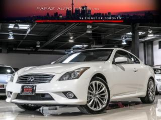 Used 2011 Infiniti G37 XS AWD|TECH PKG|2DR|NAVI|REAR CAMERA|LOADED for sale in North York, ON