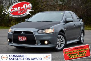 Used 2012 Mitsubishi Lancer SE LEATHER SUNROOF HTD SEATS ALLOYS LOADED for sale in Ottawa, ON