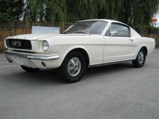 Used 1966 Ford Mustang FASTBACK for sale in Surrey, BC