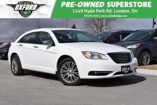 Used 2014 Chrysler 200 Limited - Gold Plan Warranty, Rust and Undercoatin for sale in London, ON