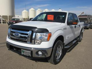 Used 2011 Ford F-150 Super Crew 4x4 XLT for sale in Innisfail, AB