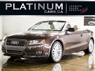 Used 2010 Audi A5 2.0T Quattro Premium Plus, CONVERTIBLE, NAV,CAM, for sale in Toronto, ON