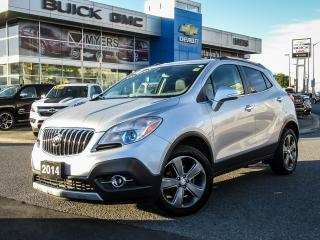 Used 2014 Buick Encore AWD, LEATHER, SUNROOF, REMOTE START REAR VISION for sale in Ottawa, ON
