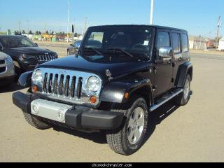 Used 2010 Jeep Wrangler Unlimited Sahara for sale in Taber, AB