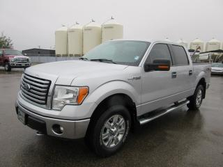 Used 2012 Ford F-150 Super Crew 4x4 XLT XTR for sale in Innisfail, AB