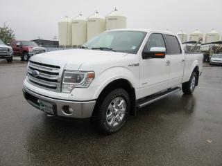 Used 2013 Ford F-150 Super Crew 4x4 Lariat for sale in Innisfail, AB