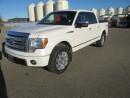 Used 2010 Ford F-150 Super Crew 4x4 PLATINUM for sale in Innisfail, AB
