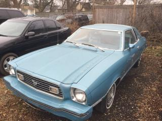 Used 1977 Ford Mustang 11 * RWD * LEATHER for sale in London, ON