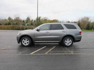 Used 2013 Dodge DURANGO SXT 4WD for sale in Cayuga, ON
