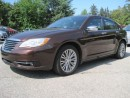 Used 2013 Chrysler 200 LIMITED / LEATHER / SUNROOF for sale in Bradford, ON