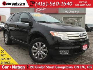 Used 2010 Ford Edge Limited   AWD   LEATHER   PWR LIFTGATE   ONLY 122K for sale in Georgetown, ON