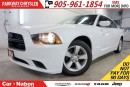 Used 2014 Dodge Charger SE | U-CONNECT 4.3| 6-WAY POWER DRIVER SEAT & MORE for sale in Mississauga, ON