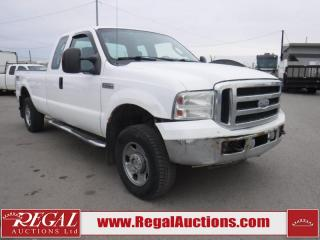 Used 2007 Ford F-250 SD XLT 4D SUPERCAB 4WD for sale in Calgary, AB