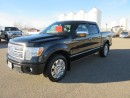 Used 2012 Ford F-150 Super Crew 4x4 PLATINUM for sale in Innisfail, AB