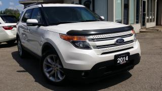 Used 2014 Ford Explorer Limited 4WD 2014 Ford Explorer Limited - NAV! BACK-UP CAM! BLIND-SPOT! for sale in Kitchener, ON