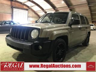 Used 2008 Jeep Patriot 4D Utility 2WD for sale in Calgary, AB