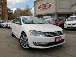 Used 2015 Volkswagen Passat Passat CLEAN CARFAX | DISEL | CAM | SUN ROOF | for sale in Scarborough, ON