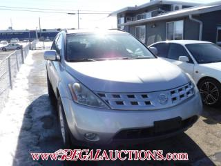 Used 2004 Nissan MURANO SL 4D UTILITY AWD for sale in Calgary, AB