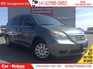 Used 2009 Honda Odyssey LX | 8 PASSENGER | REAR AIR | POWER OPTIONS for sale in Georgetown, ON
