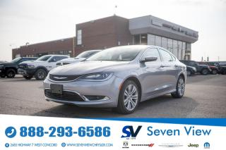 Used 2015 Chrysler 200 Limited UCONNECT/NAVI/ONLY 26,000 KMS for sale in Concord, ON