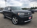 Used 2013 Dodge Durango CITADEL**NAVIGATION**ADAPTIVE CRUISE CONTROL** for sale in Mississauga, ON