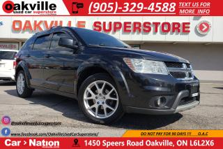 Used 2012 Dodge Journey CREW | BLUETOOTH | HTD SEATS |  TOUCHSCREEN for sale in Oakville, ON