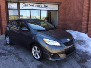 Used 2010 Toyota Matrix XR AUTO, SUNROOF, NO ACCIDENTS, REMOTE STARTER for sale in Woodbridge, ON