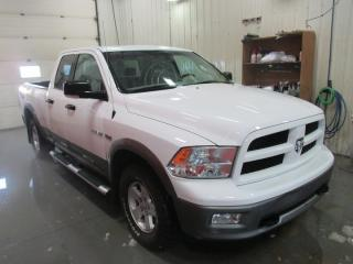 Used 2010 Dodge Ram 1500 ST 4X4 Quad Cab SWB for sale in Grande Prairie, AB
