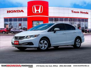 Used 2014 Honda Civic LX--2 Owners--No Accidents--Heated Seats for sale in Milton, ON