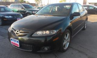 Used 2006 Mazda MAZDA6 GS Manual, Spoiler, Alloys, 63k only !!! for sale in North York, ON