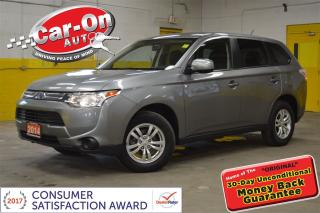 Used 2014 Mitsubishi Outlander ES AWD PWR GRP HEATED SEATS BLUETOOTH ALLOYS for sale in Ottawa, ON